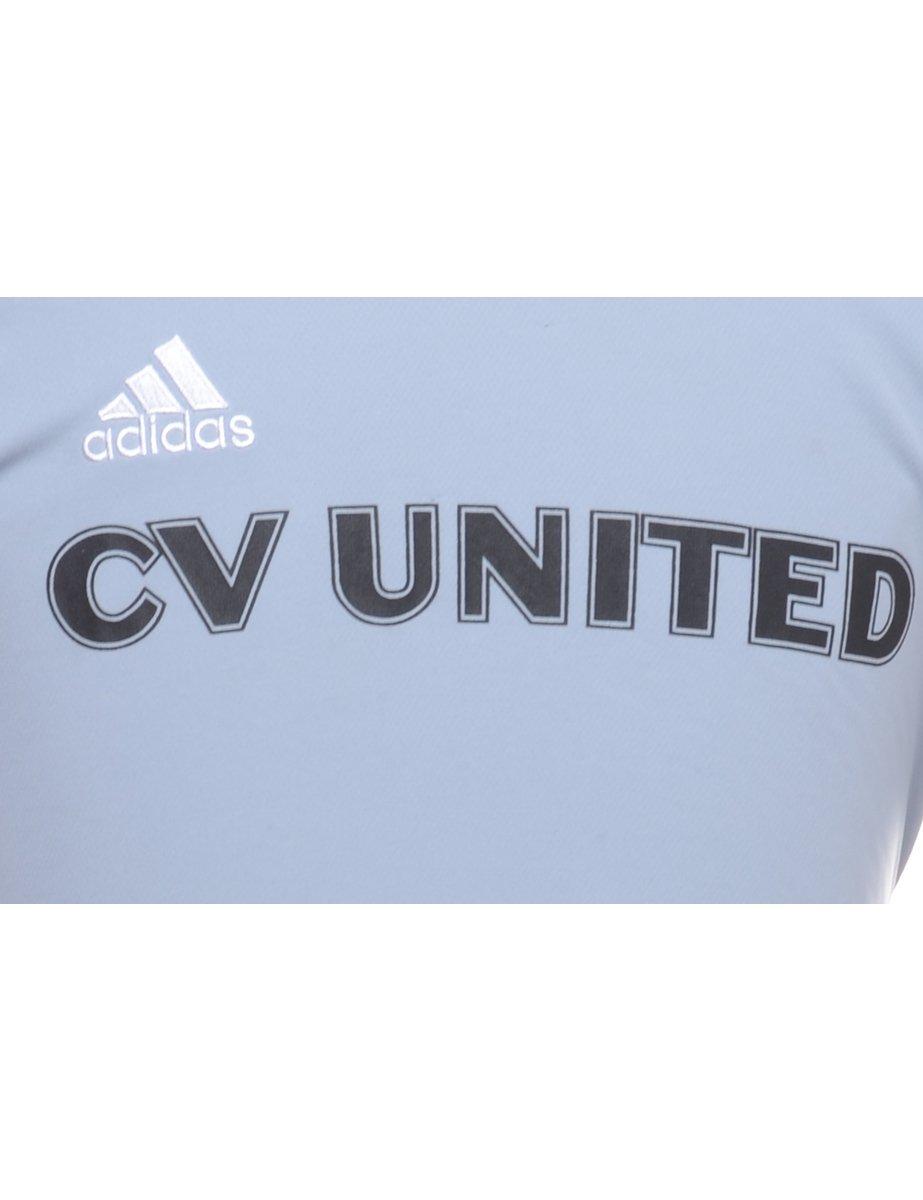 Adidas Original 1990s Adidas CV United Printed T-shirt - S