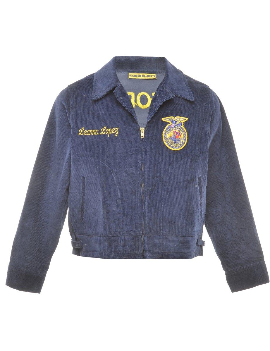 1970's Agricultural Education Vintage Corduroy Jacket - L
