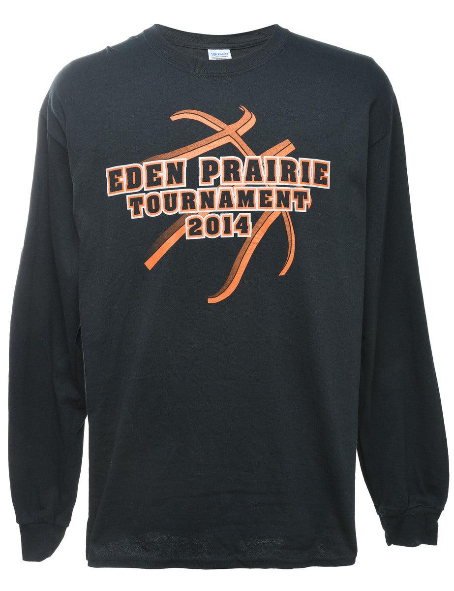 2000s Eden Prairie Printed T-shirt - L