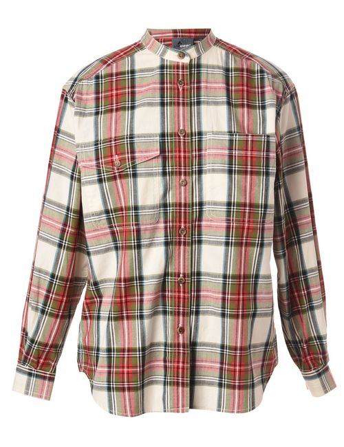 Beyond Retro 1990s Checked Blouse - S