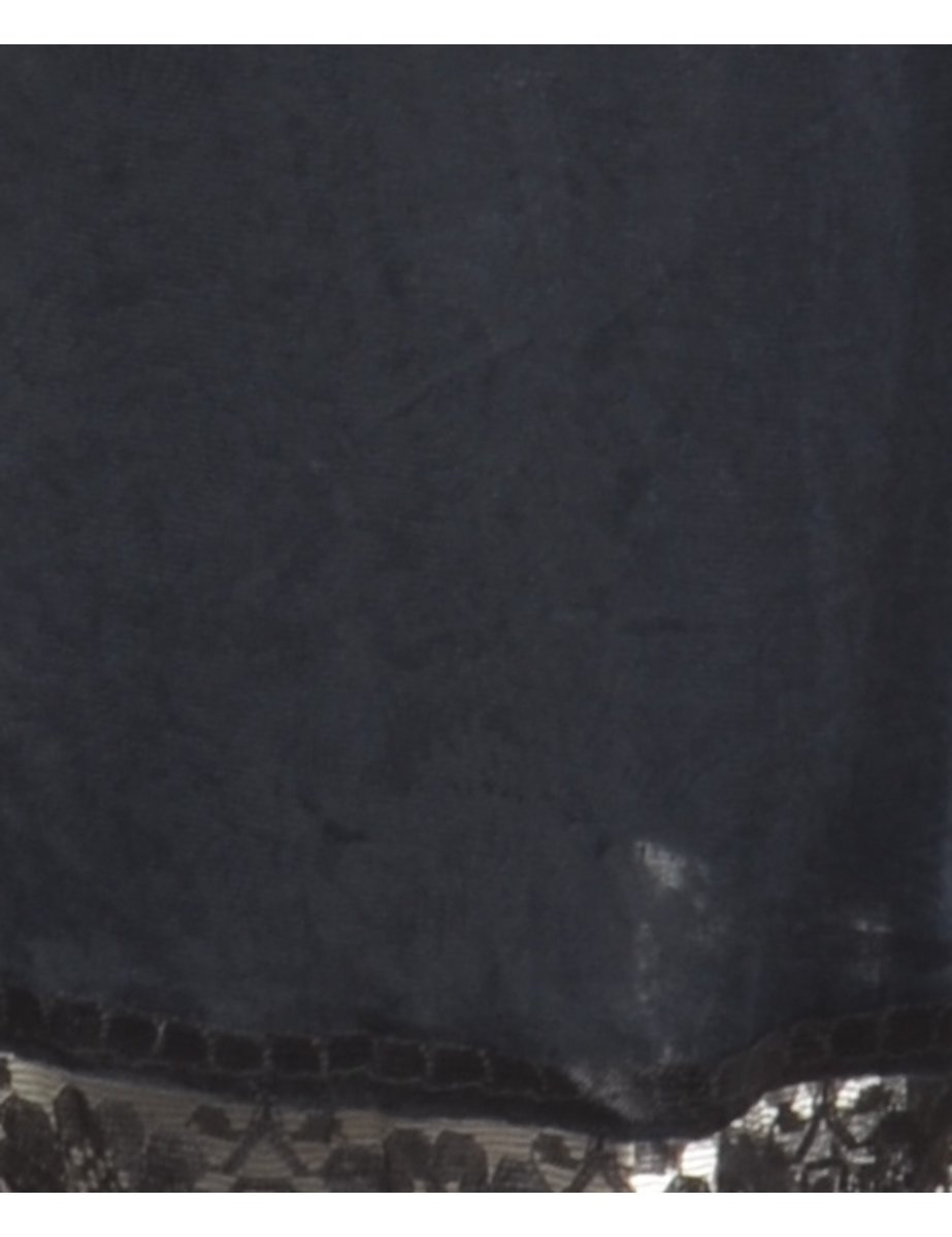 Beyond Retro 1990s Black Underskirt - S