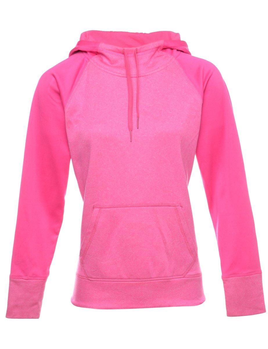 Beyond Retro 2000s Pink Hooded Sweatshirt - M