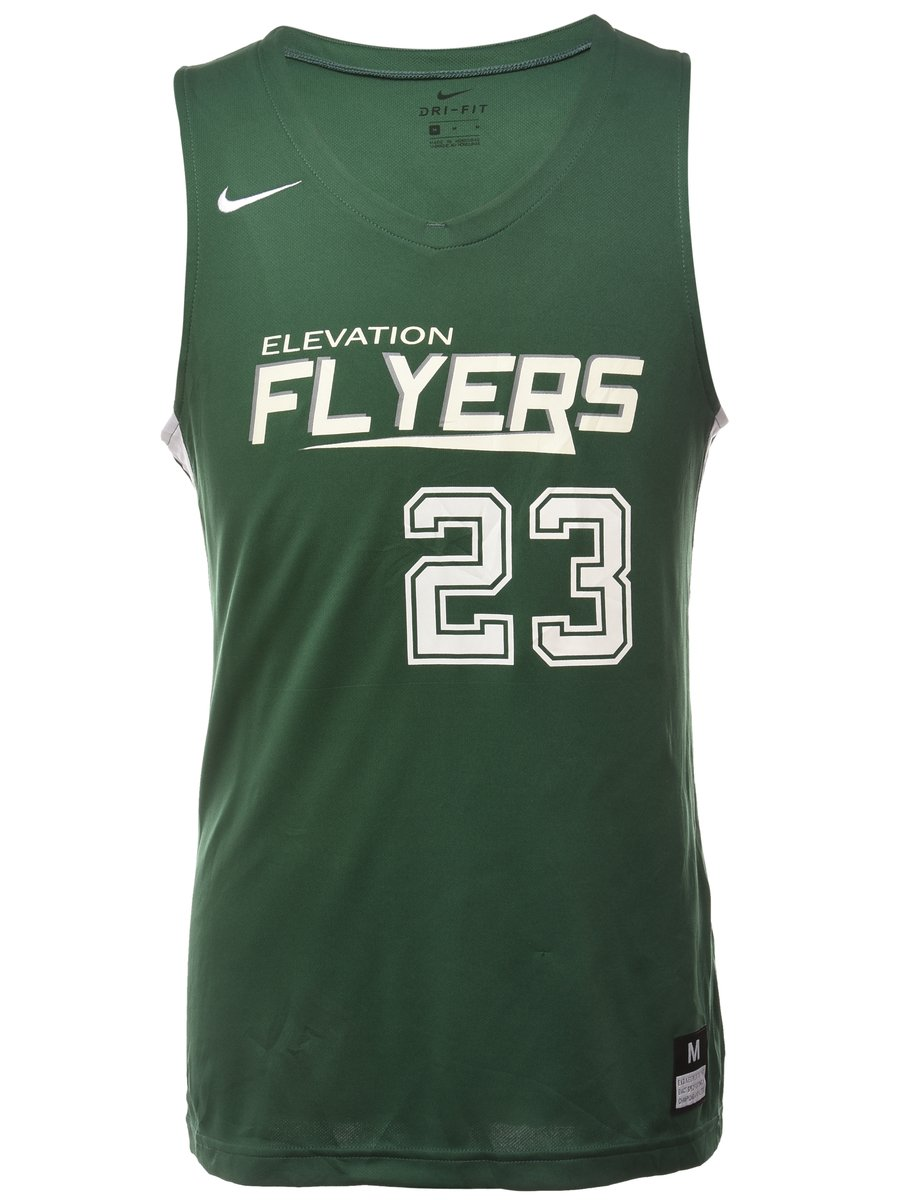1990s Nike Elevation Flyers 23 Sports T-shirt - M