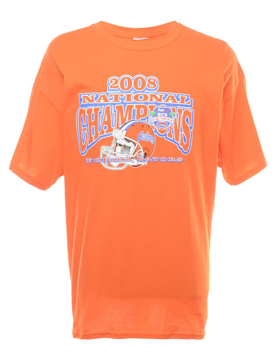 2000s National Champions Printed T-shirt - XL