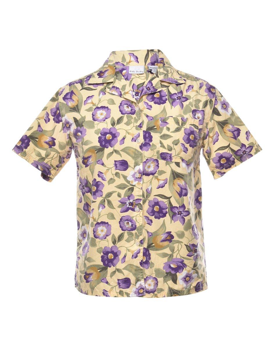 Beyond Retro 1990s Floral Shirt - M