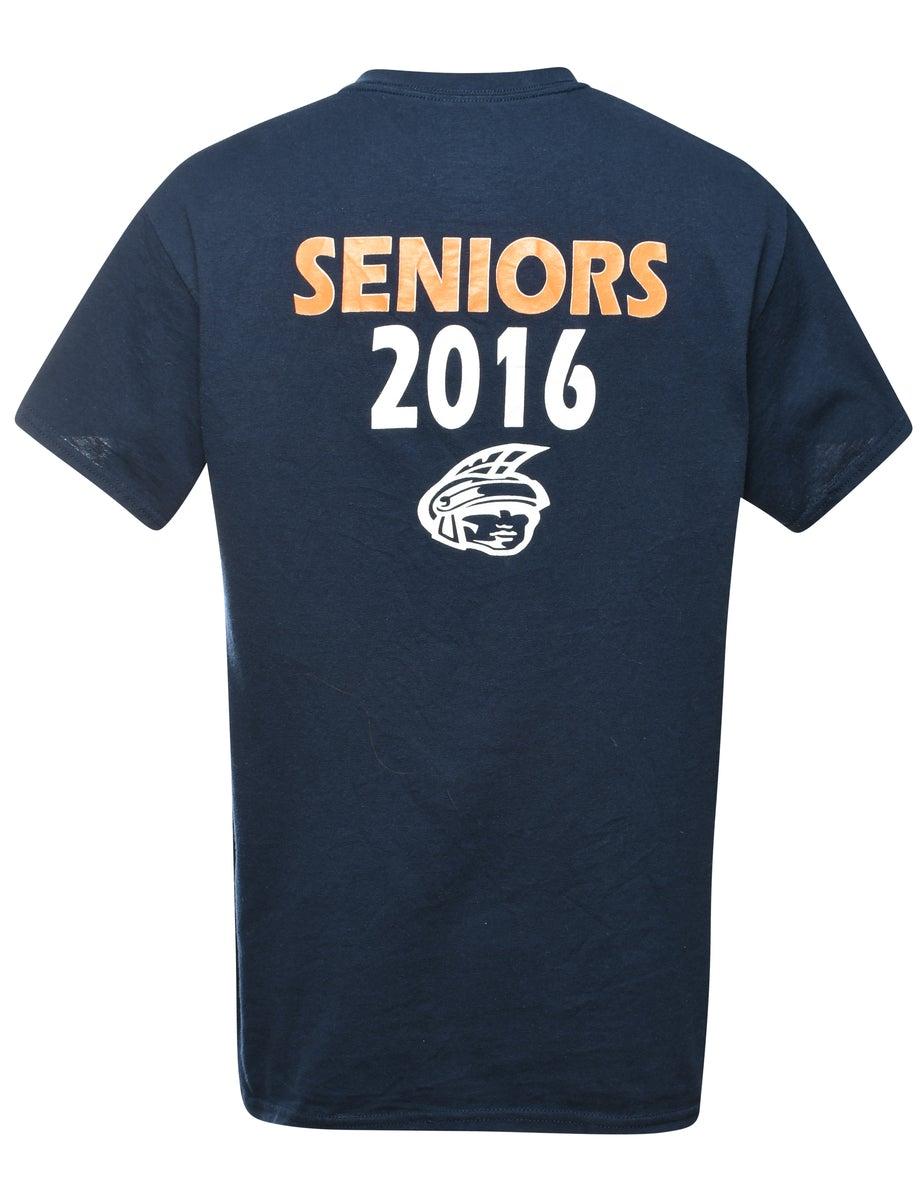 Beyond Retro 2000s B16 Printed T-shirt - M