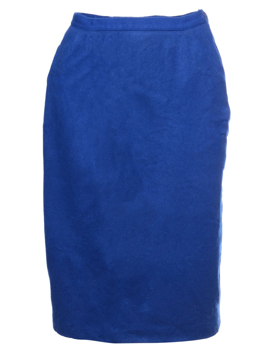 Beyond Retro 1990s Woollen Pencil Skirt - S