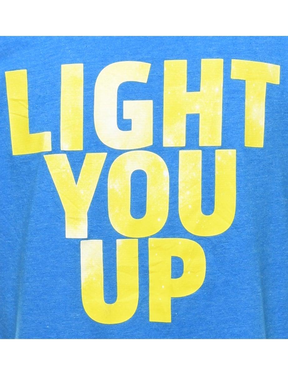 Adidas Original 2000s Adidas Light You Up Printed T-shirt - M