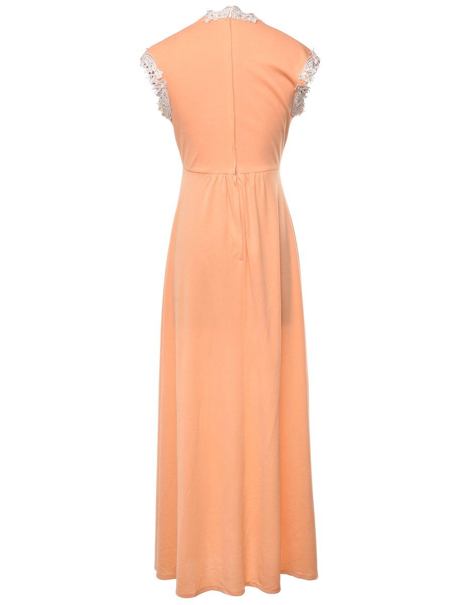 Beyond Retro 1970s Sleeveless Dress - M