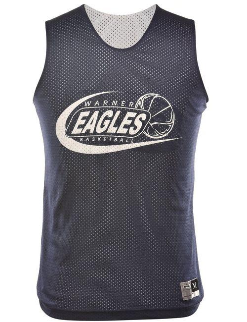 2000s Basketball Warner Eagles Vest - M