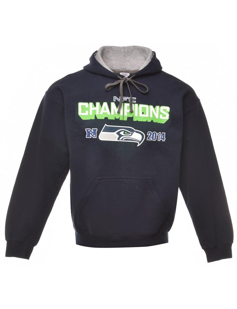 Beyond Retro 2000s NFC Champions Printed Sweatshirt - M