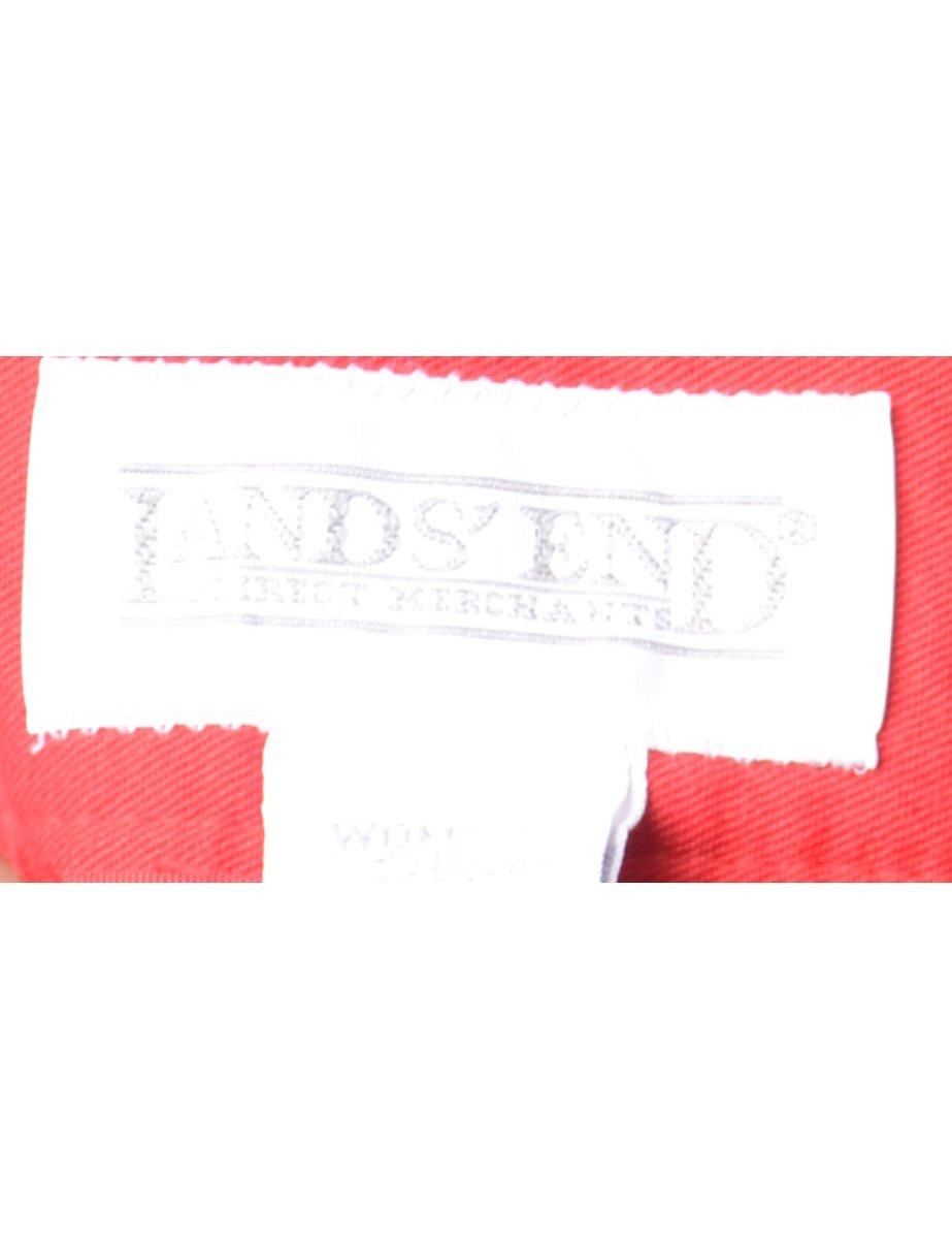 Beyond Retro 1990s Red Midi Skirt - M