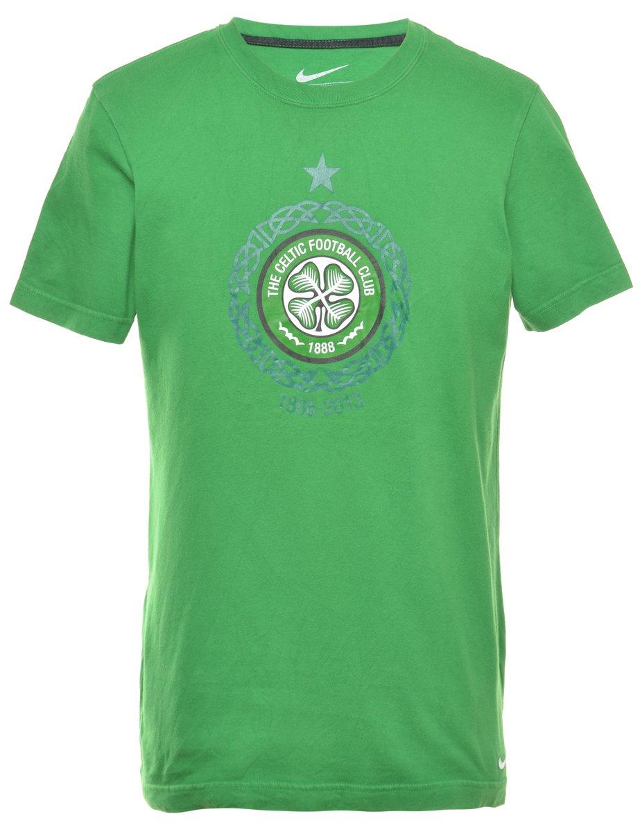 2000s The Celtic Football Club Printed T-shirt - M