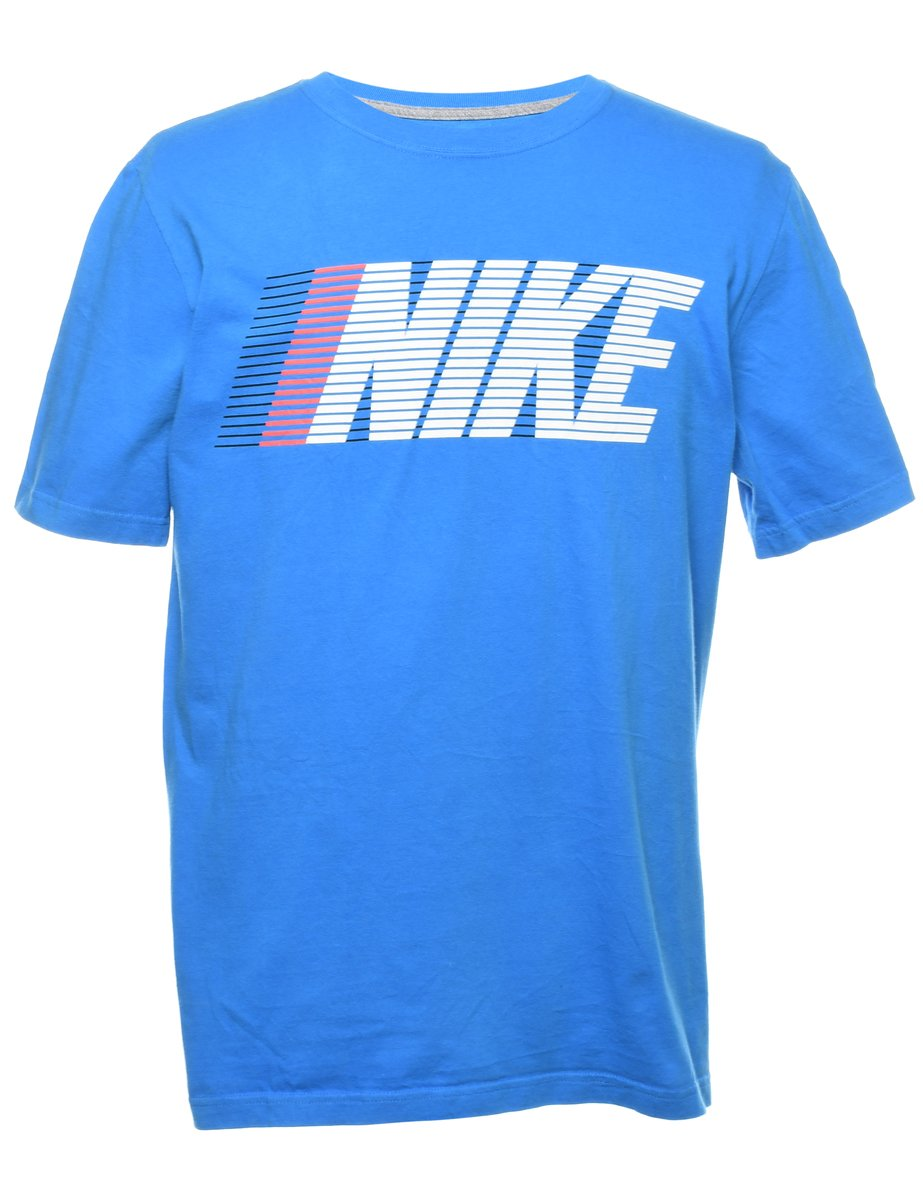2000s Nike Printed T-shirt - L