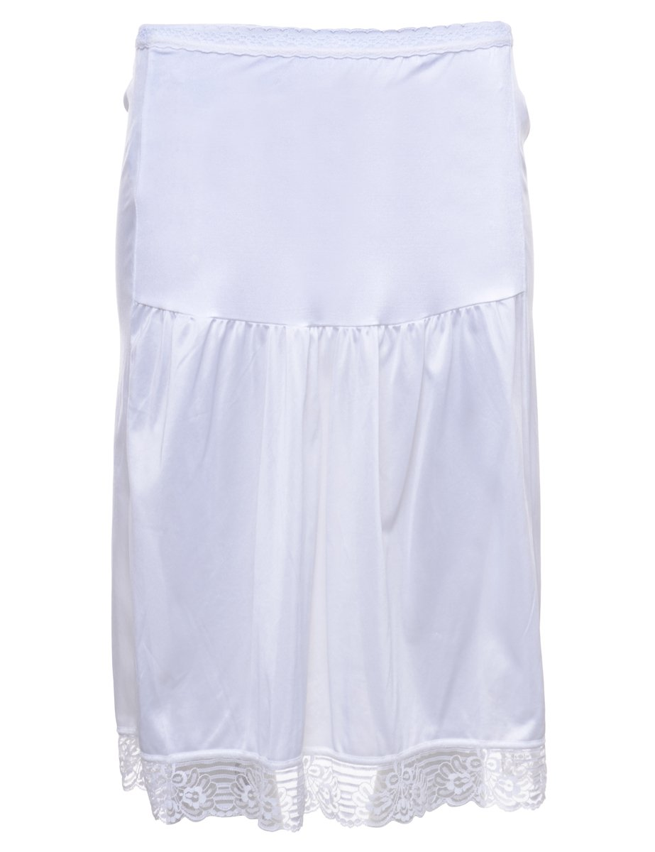 1980s White Underskirt - XS