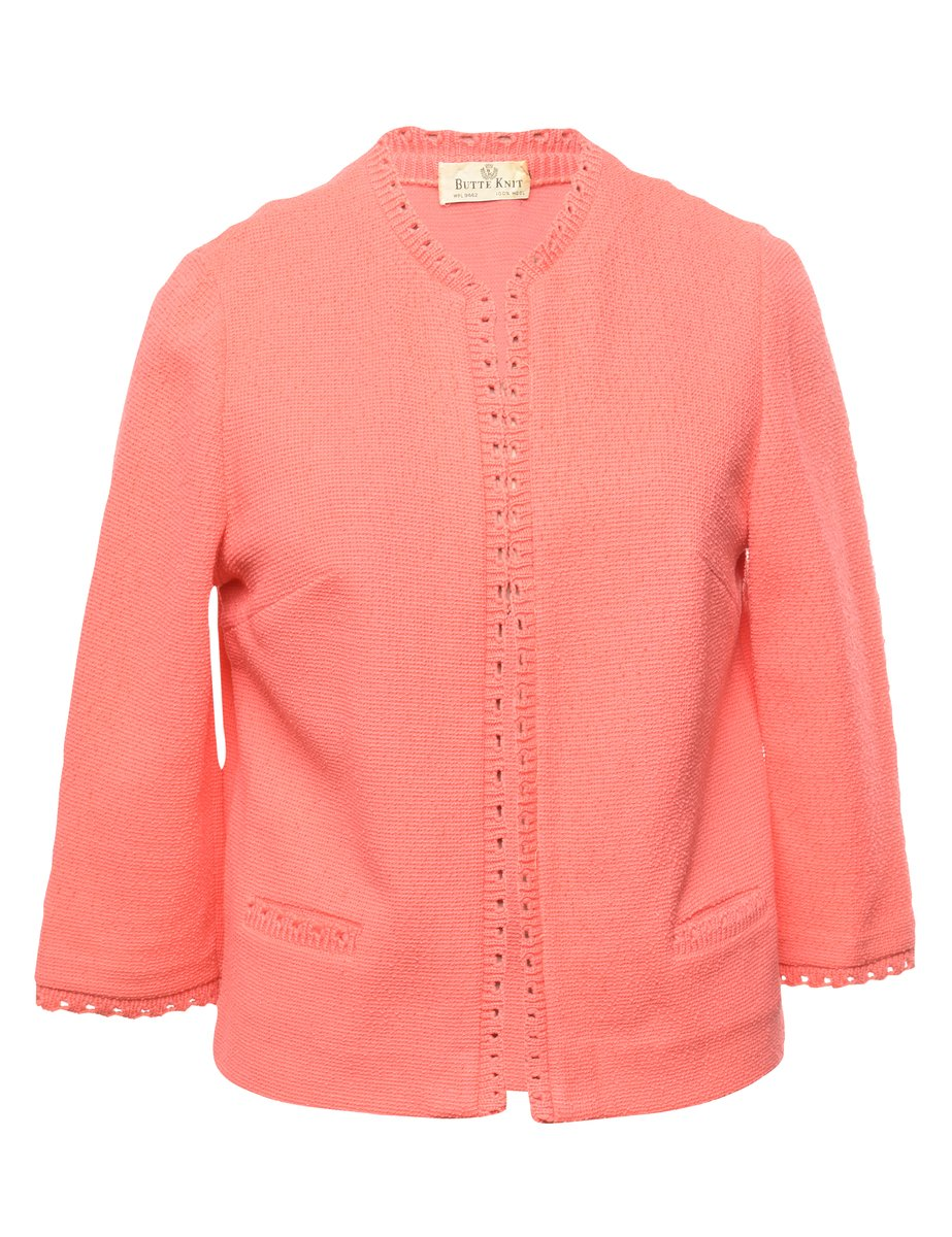 100% Wool Jacket - M