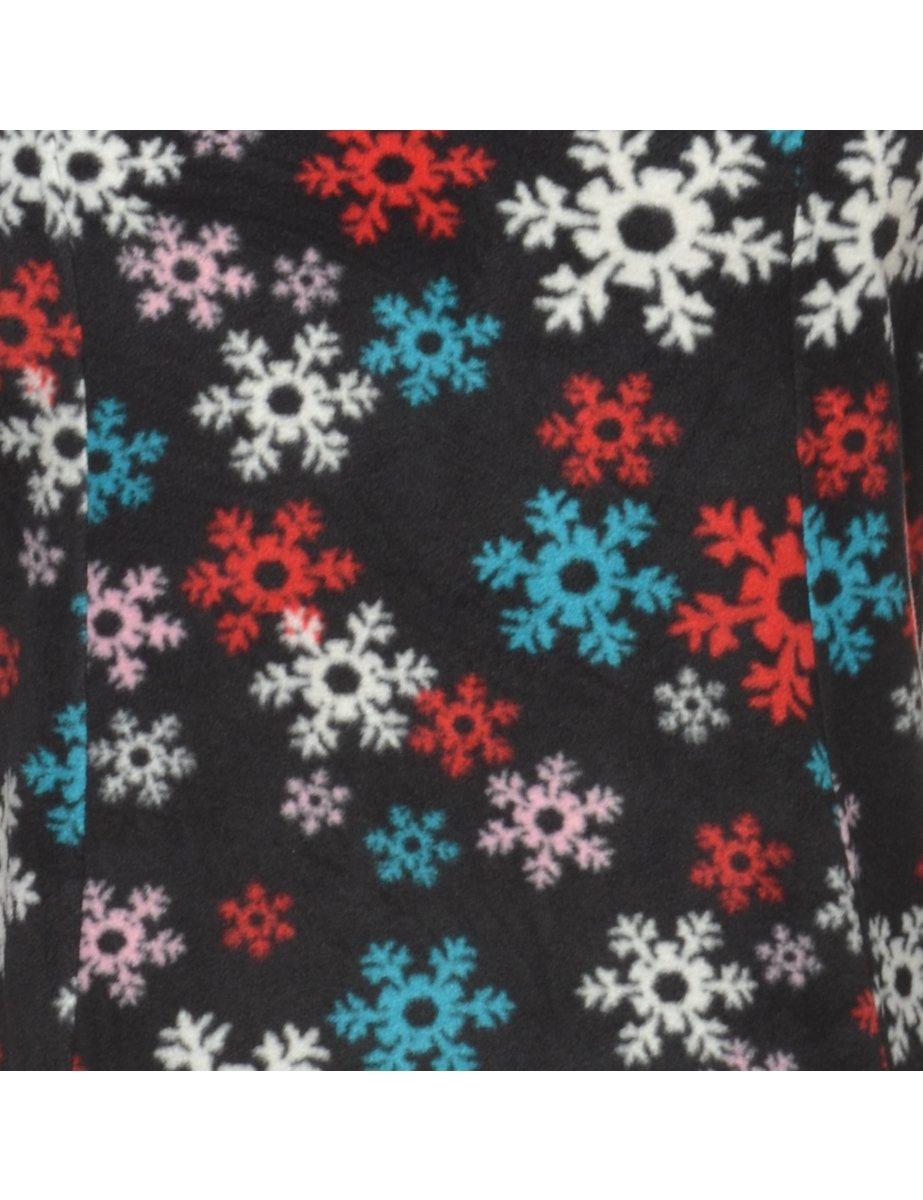 Beyond Retro 2000s Black Fleece Sweatshirt - M