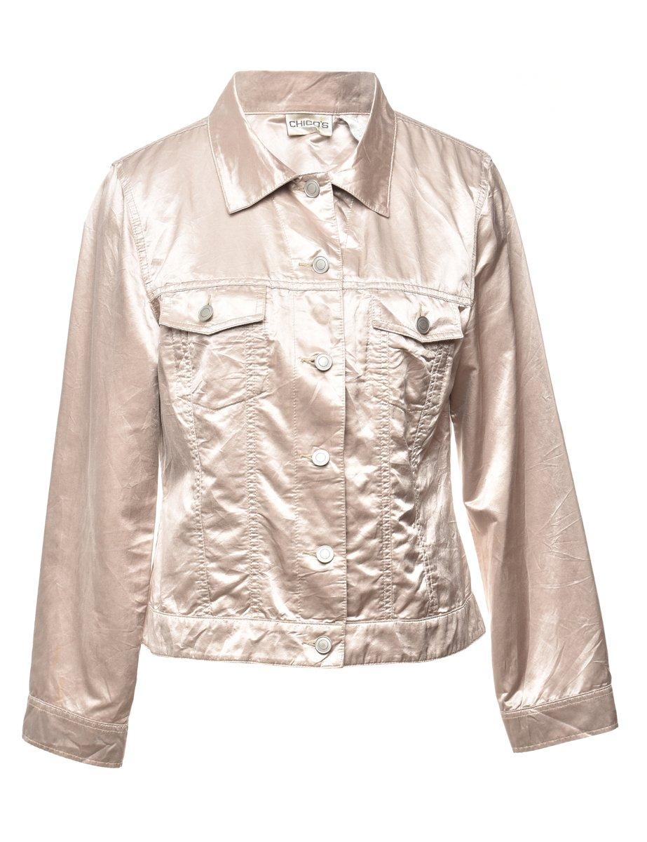 2000s Button Front Jacket - M