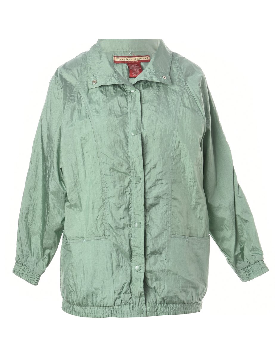 1990s Green Nylon Jacket - M