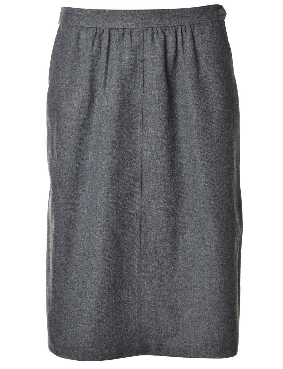 1990s Grey Skirt - M