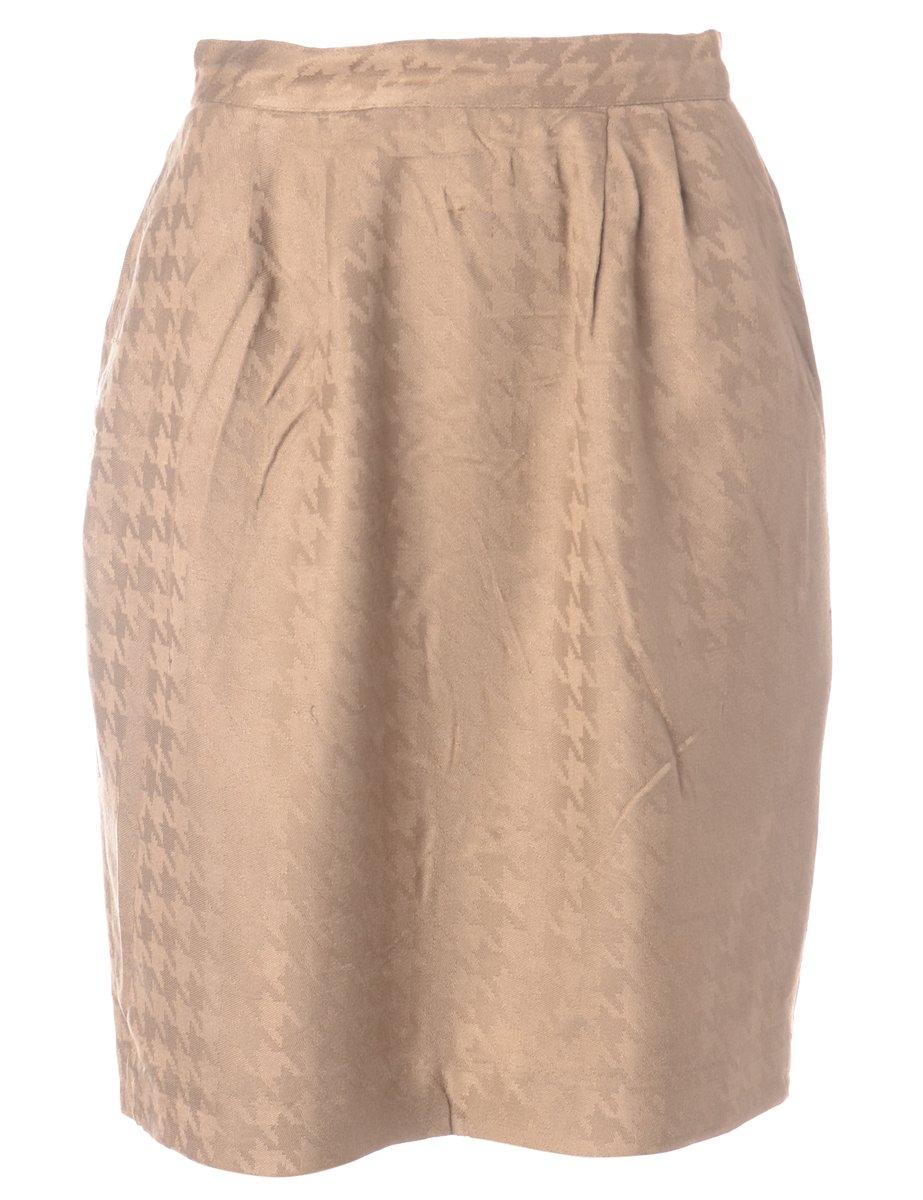 1990s Jacquard  Skirt - M