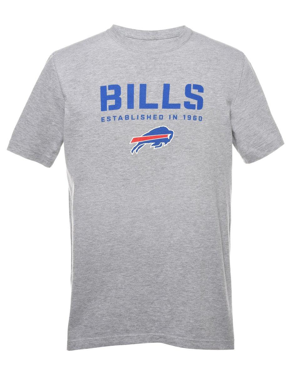 2000s Nike Bills Printed T-shirt - S