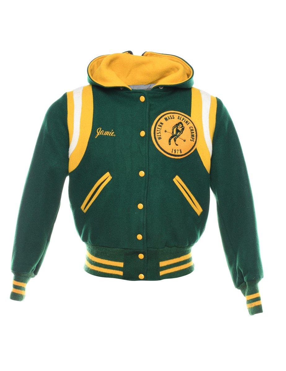 1970s Hooded Team Jacket - XL