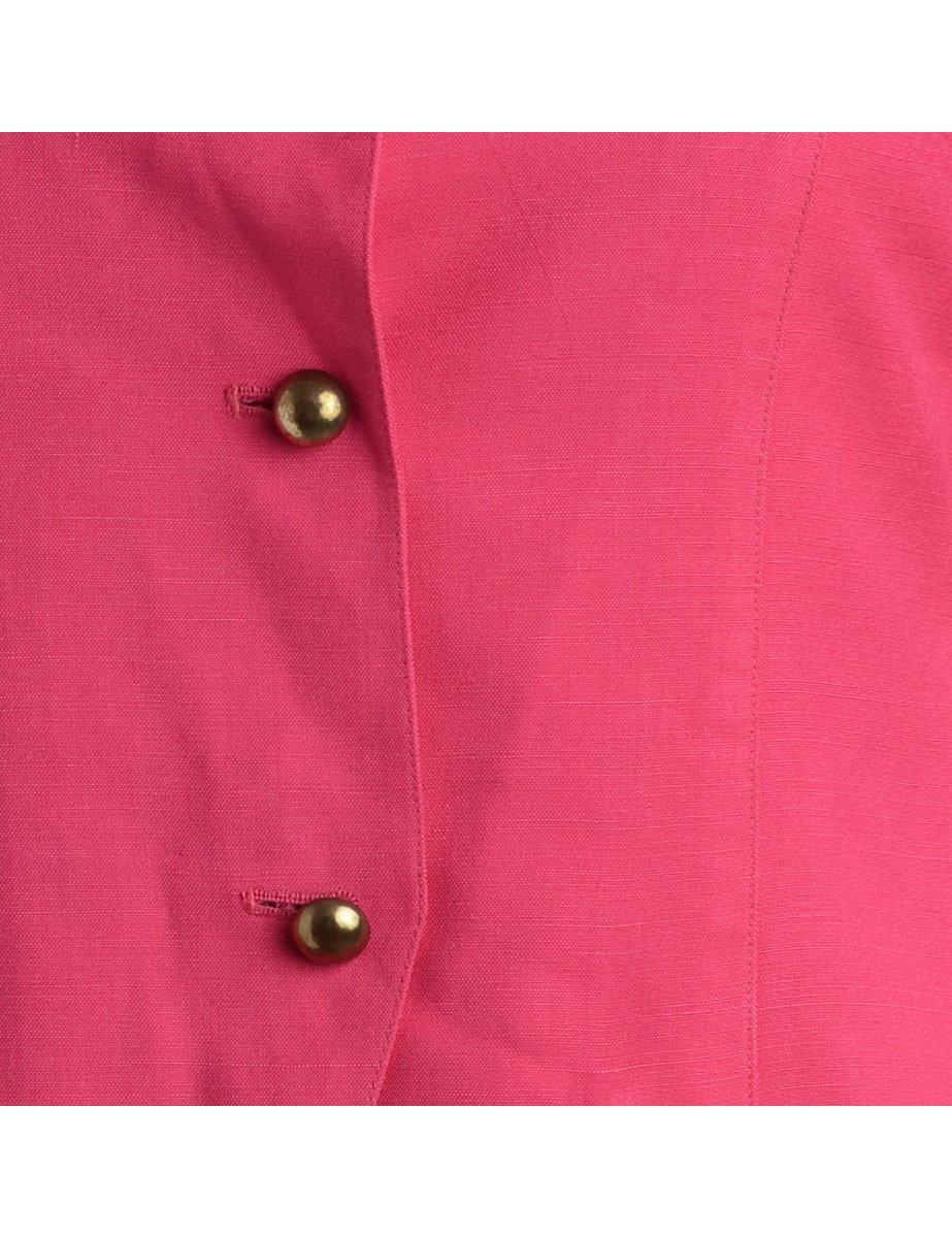 1990s Button Front Jacket - M
