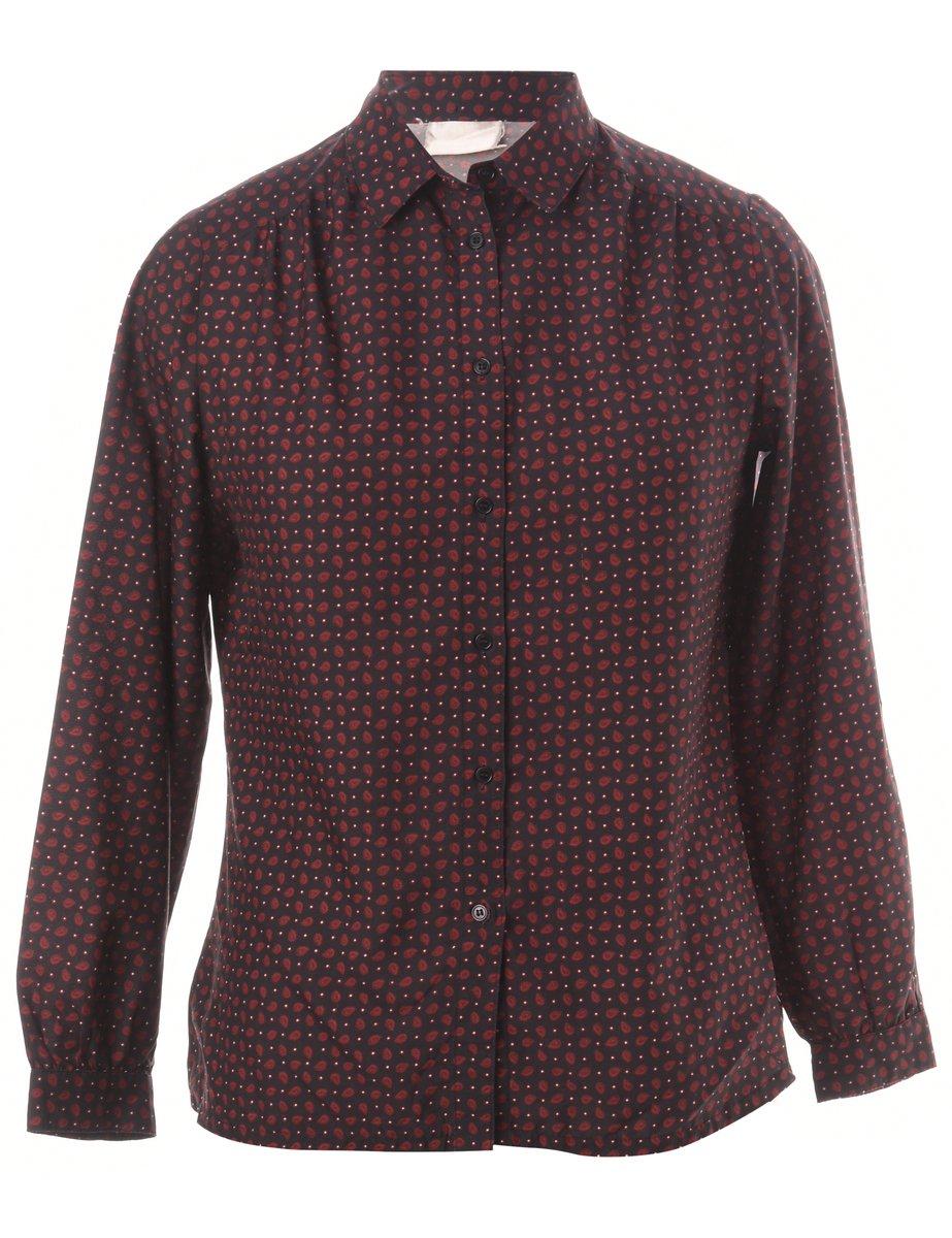 1990s Long Sleeved Shirt - M