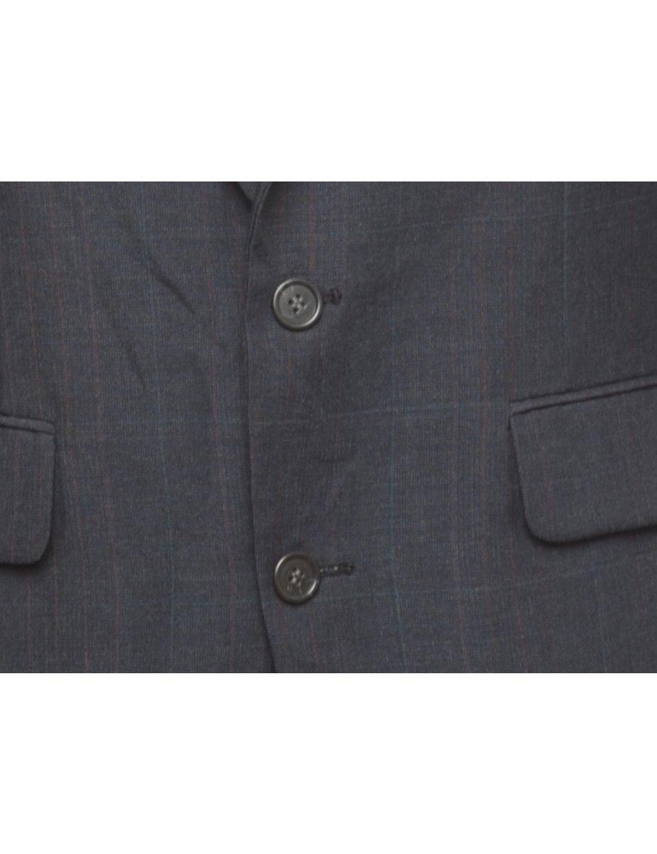 Beyond Retro 1990s Button Front Blazer - L