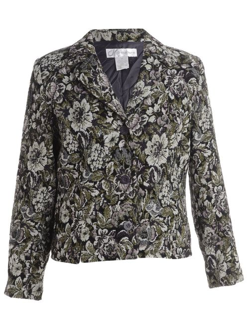 1990s Floral Pattern Tapestry Jacket - L