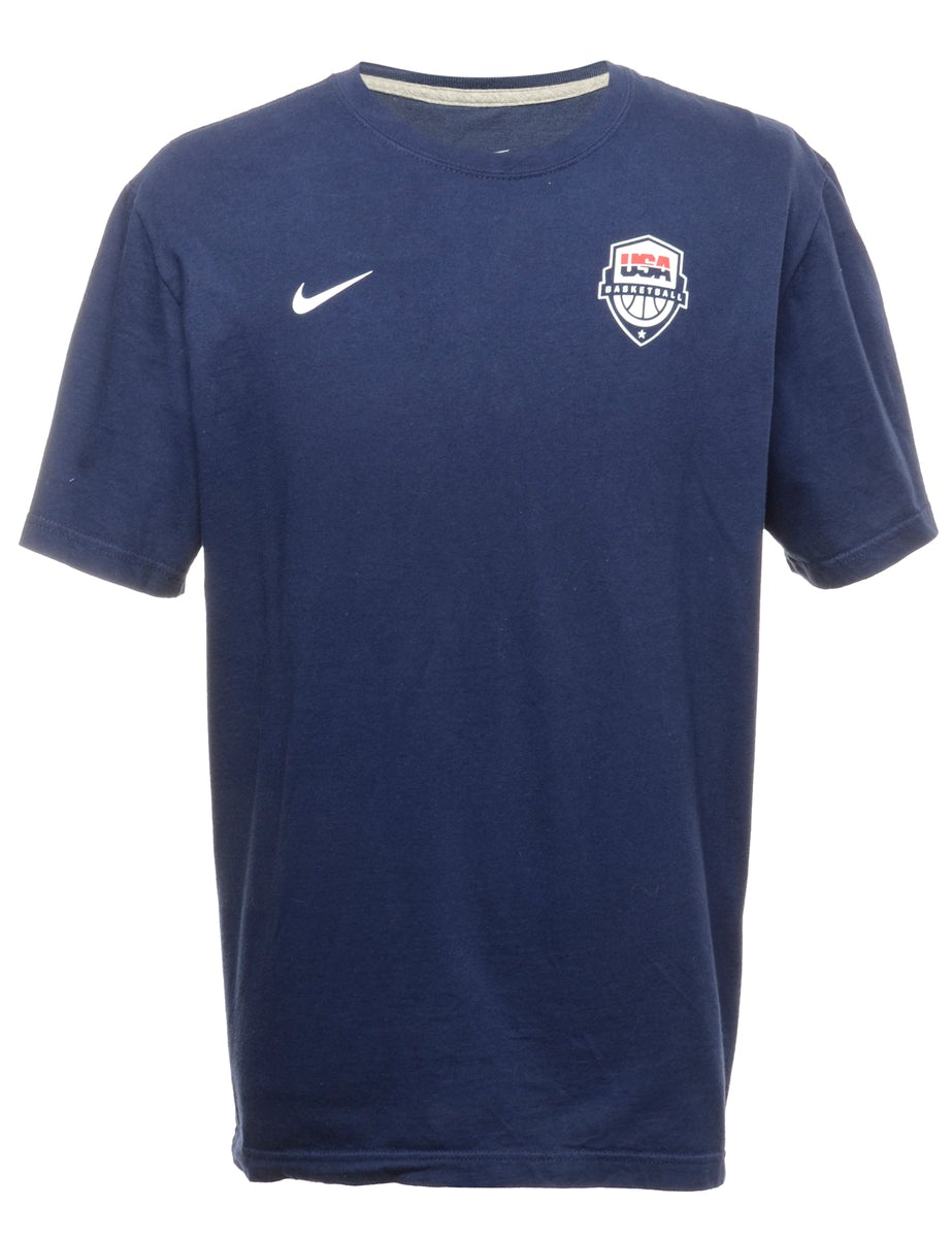 2000s Nike Printed T-shirt - XL