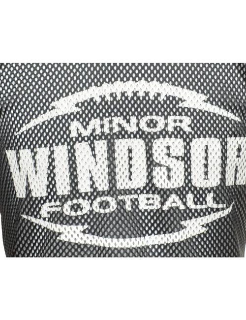 Beyond Retro 1990s Mesh Windsor Minor Football Sports T-shirt - XL