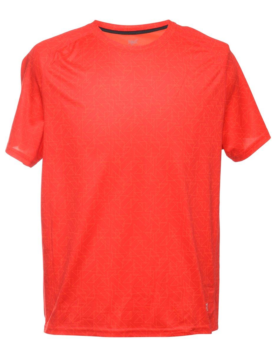 Beyond Retro 1990s Red Printed T-shirt - L