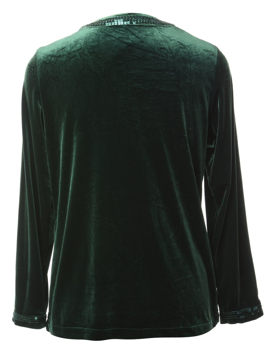 Beyond Retro 1990s Sequined Evening Jacket - S