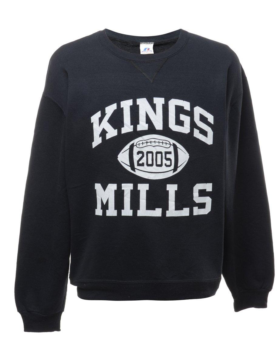 2000s Kings Mills Printed Sweatshirt - L