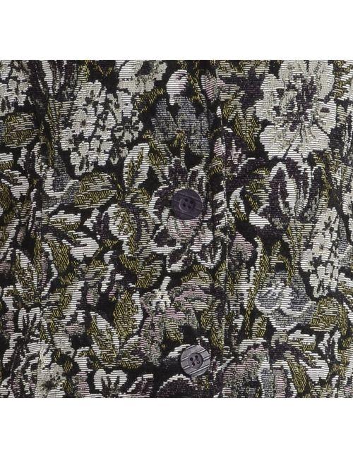 1990s Floral Pattern Tapestry Jacket - L