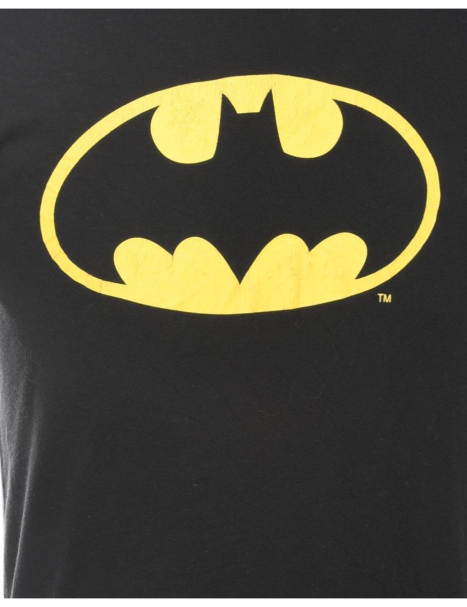 Beyond Retro 2000s Black Batman Printed T-shirt - S