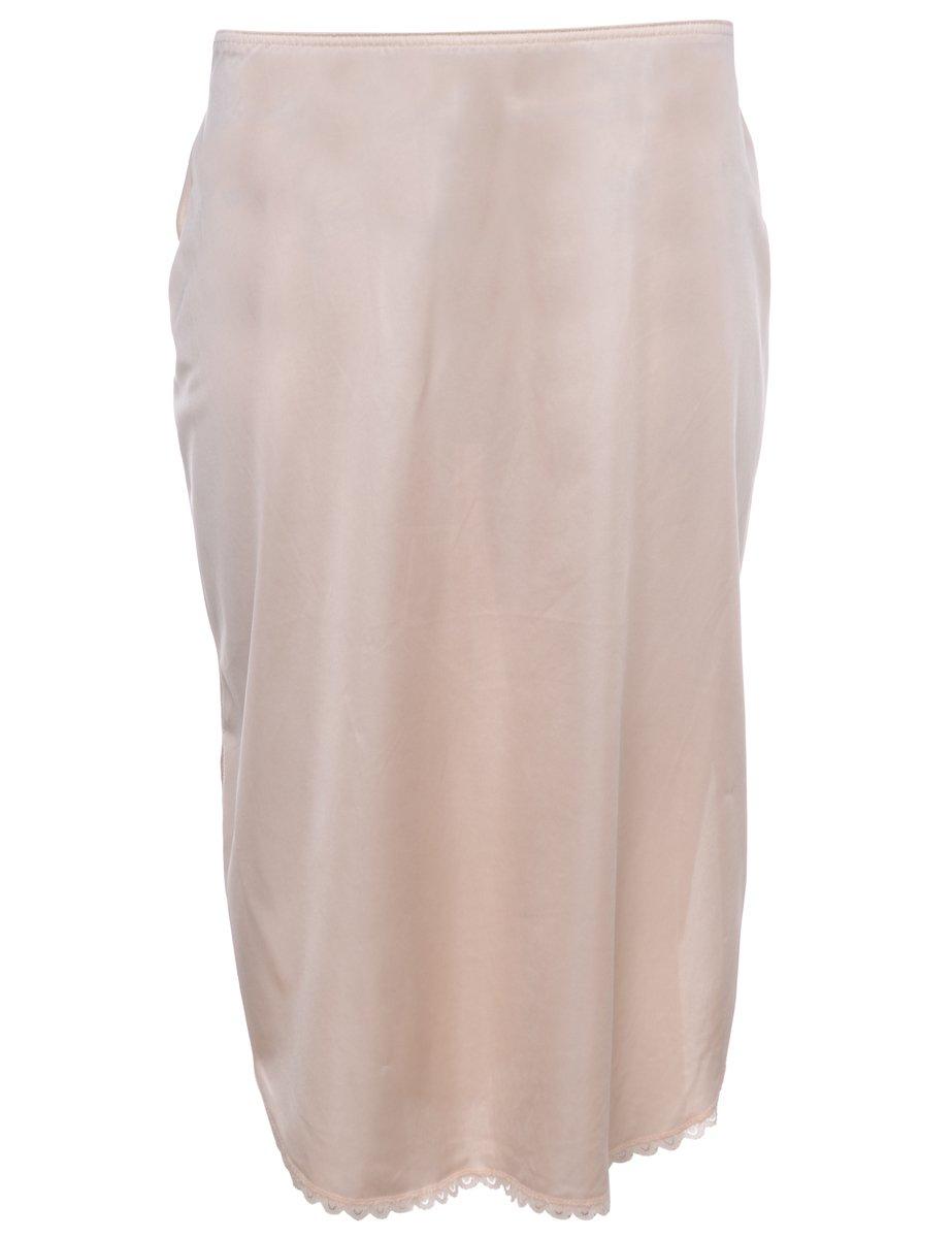 1990s Pastel Peach Underskirt - L