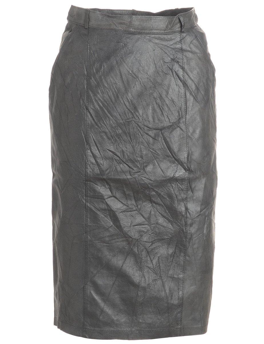 1990s Knee Length Pencil Skirt - M