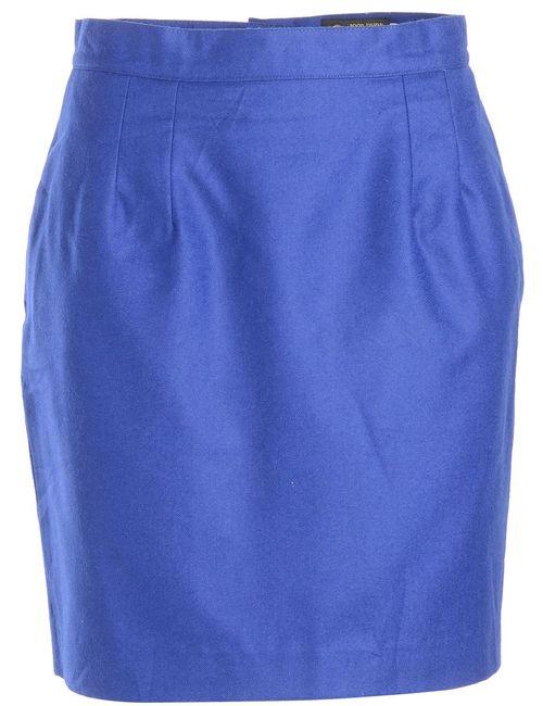 1990s Shiny Pencil Skirt - L