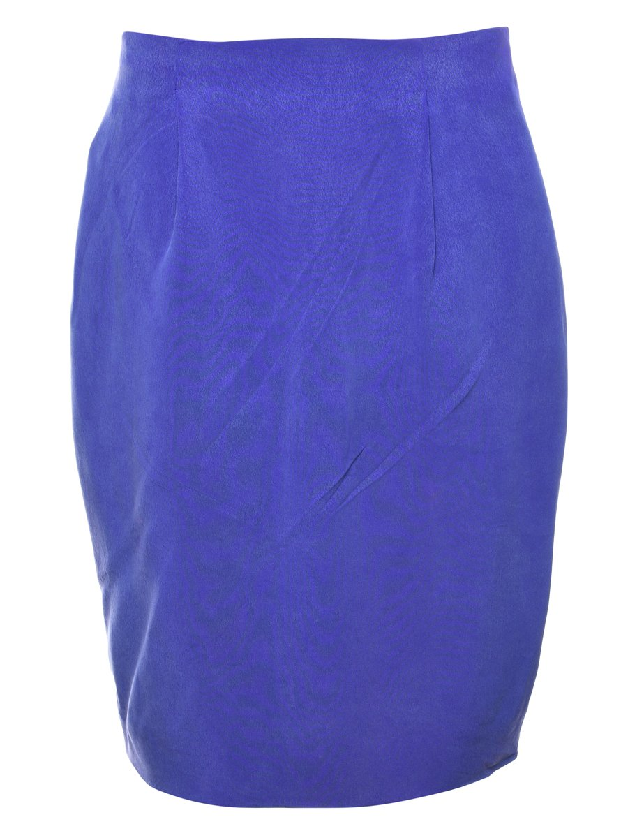 100% Silk Pencil Skirt - M