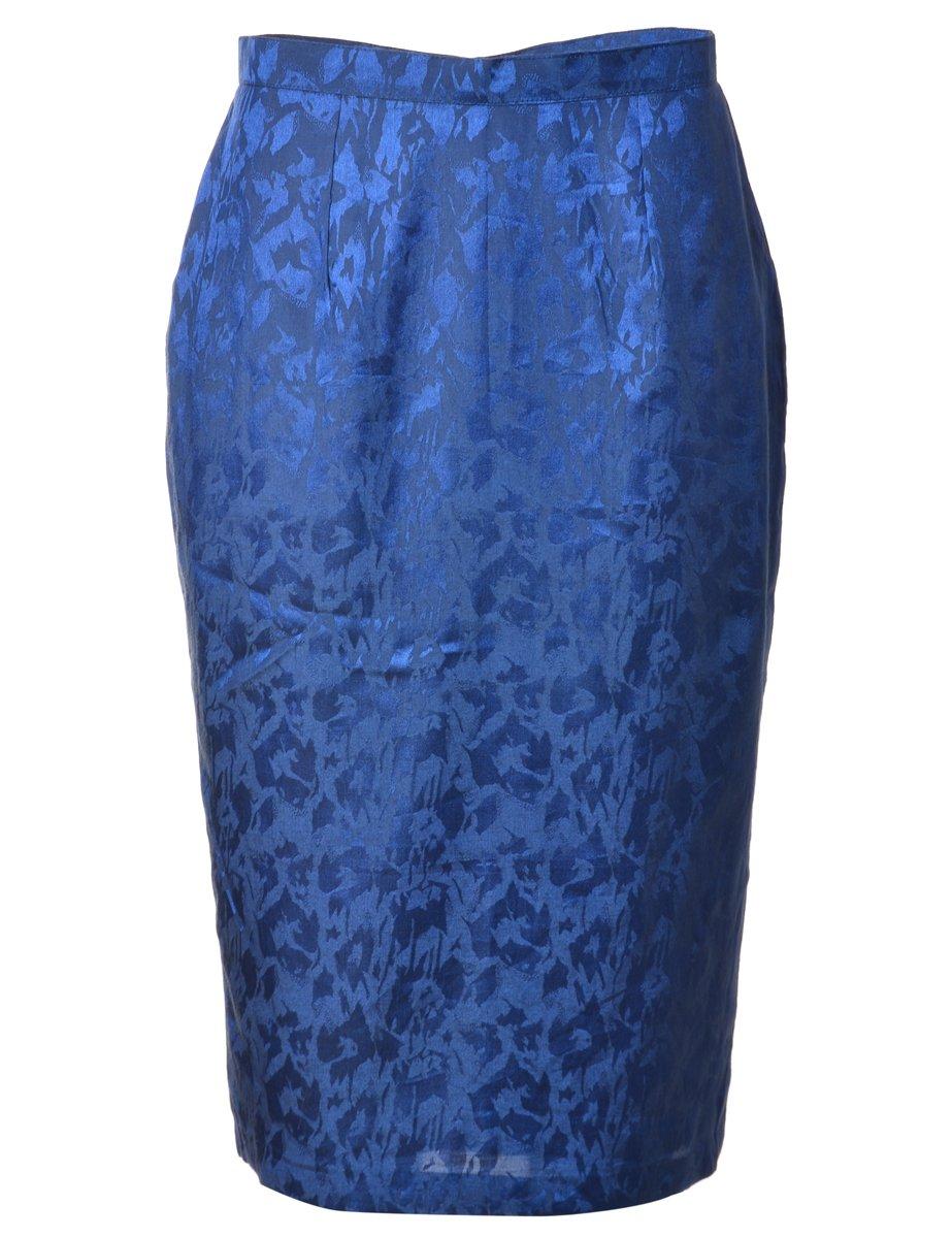 1990s Jacquard  Pencil Skirt - M