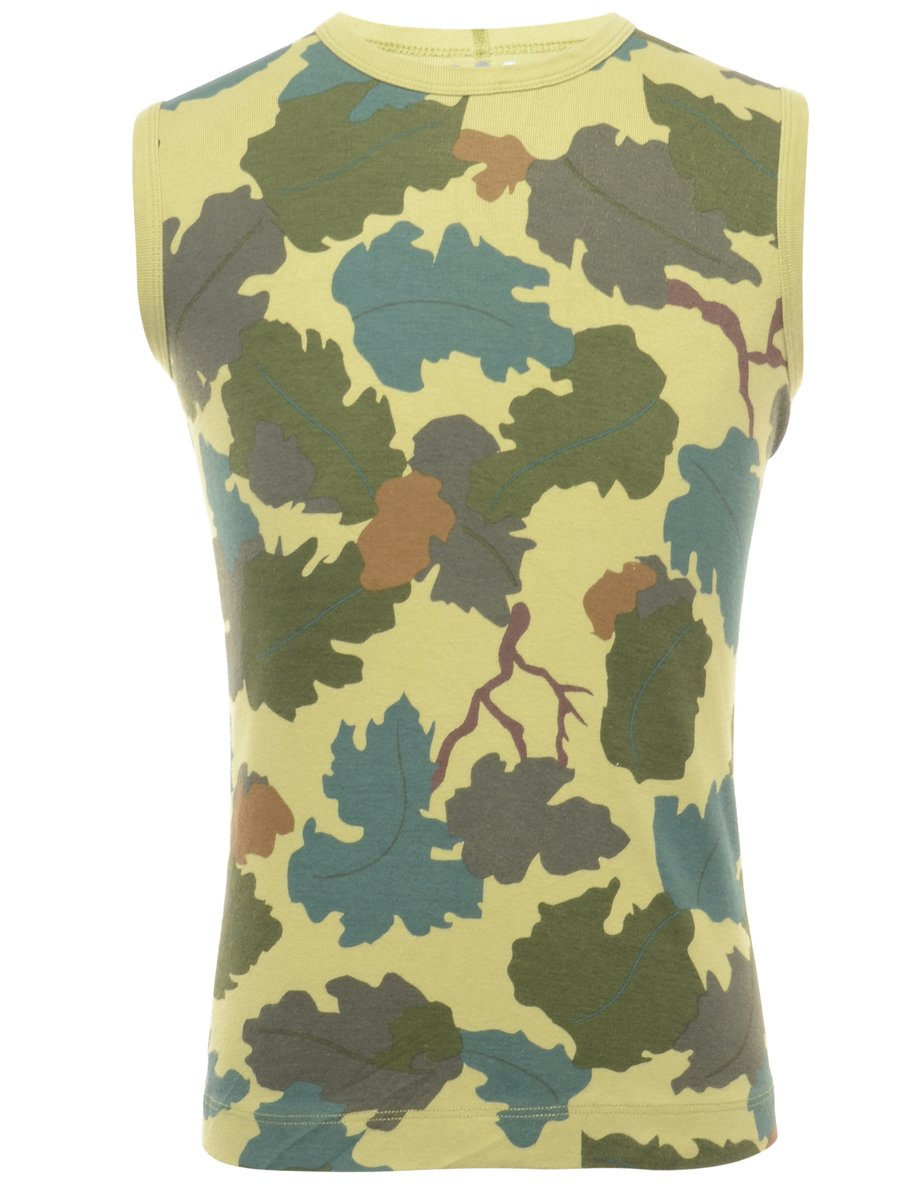 2000s Camouflage Vest - M