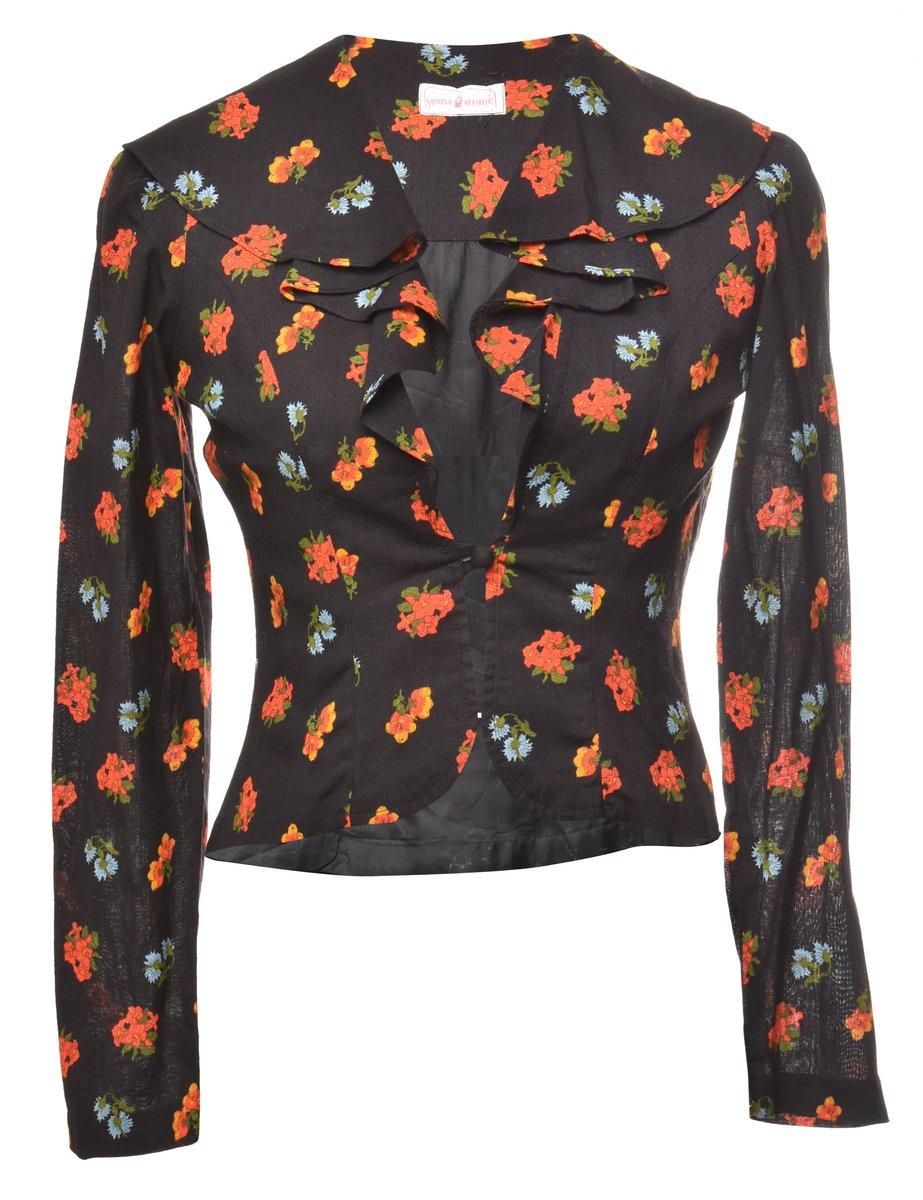 1970s Floral Jacket - S