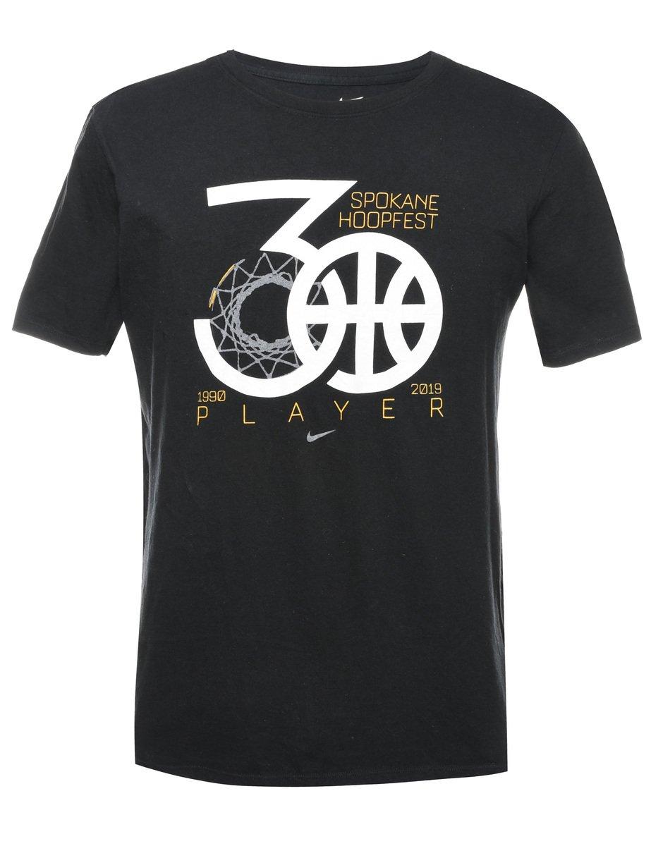 2000s Nike Spokane Hoopfest Printed T-shirt - M
