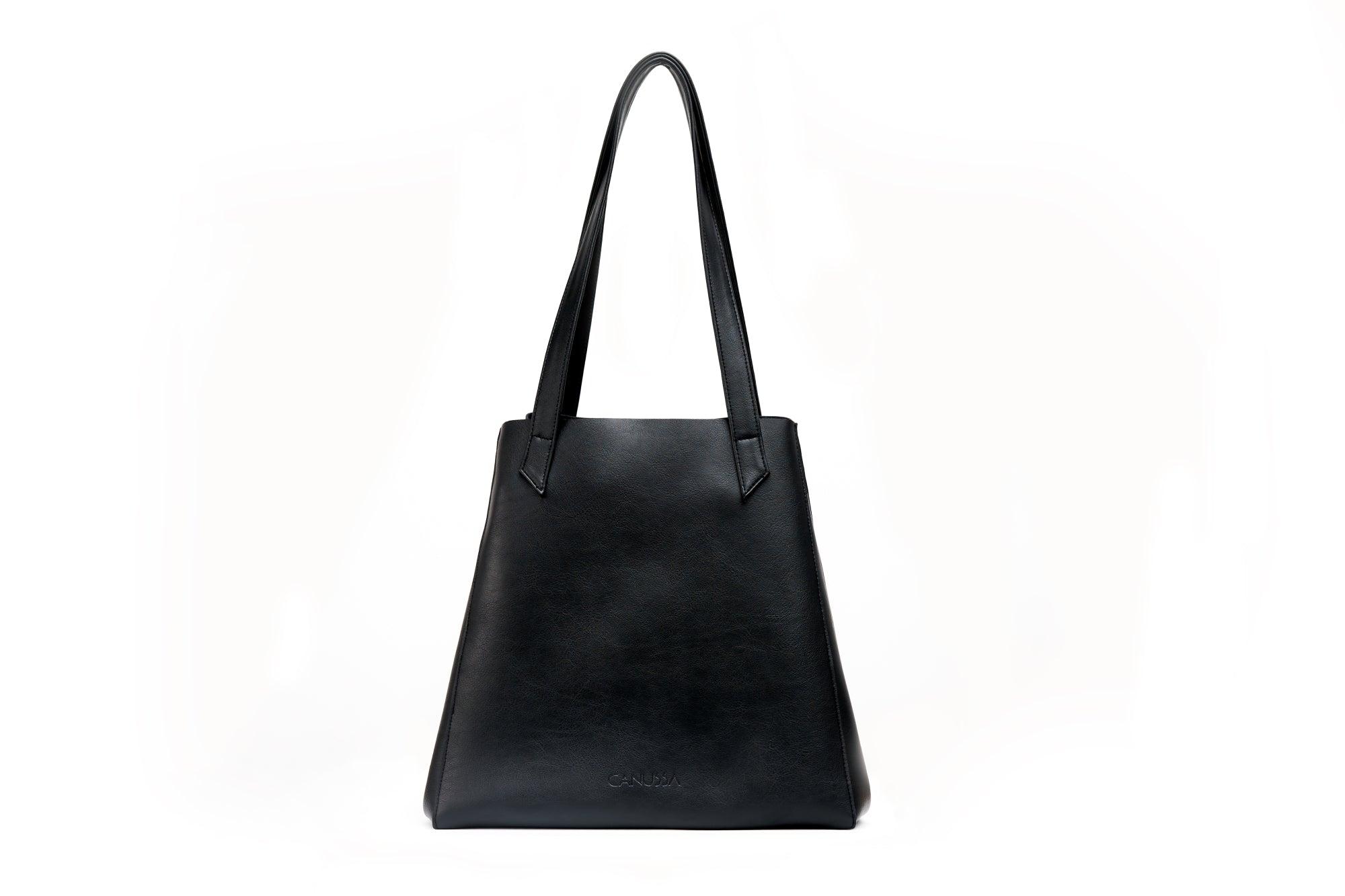 TOTISSIMO Black - Shoulder Vegan Bag