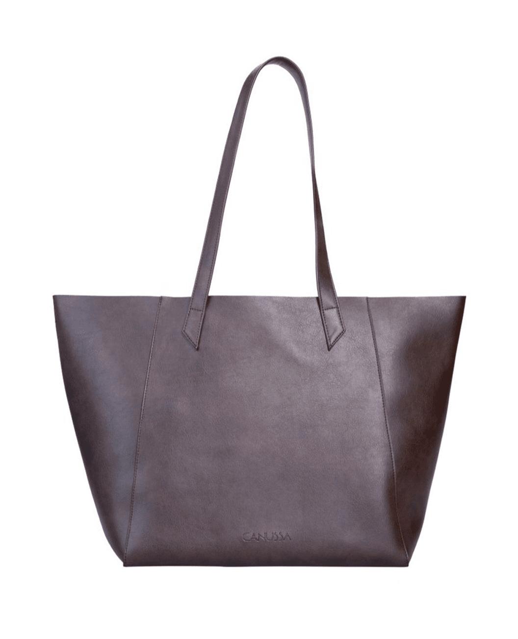 TOTISSIMO Brown - Shoulder Vegan Bag