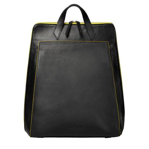 Urban Backpack Black/Yellow - Vegan Laptop Backpack