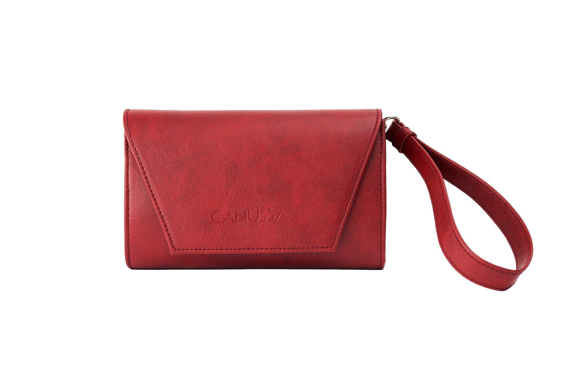 Hybrid Mini Red - Vegan Purse, Clutch and Bum bag